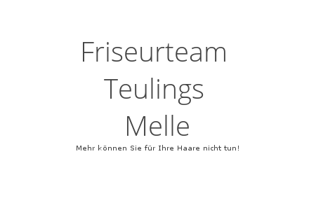 Friseurteam Teulings